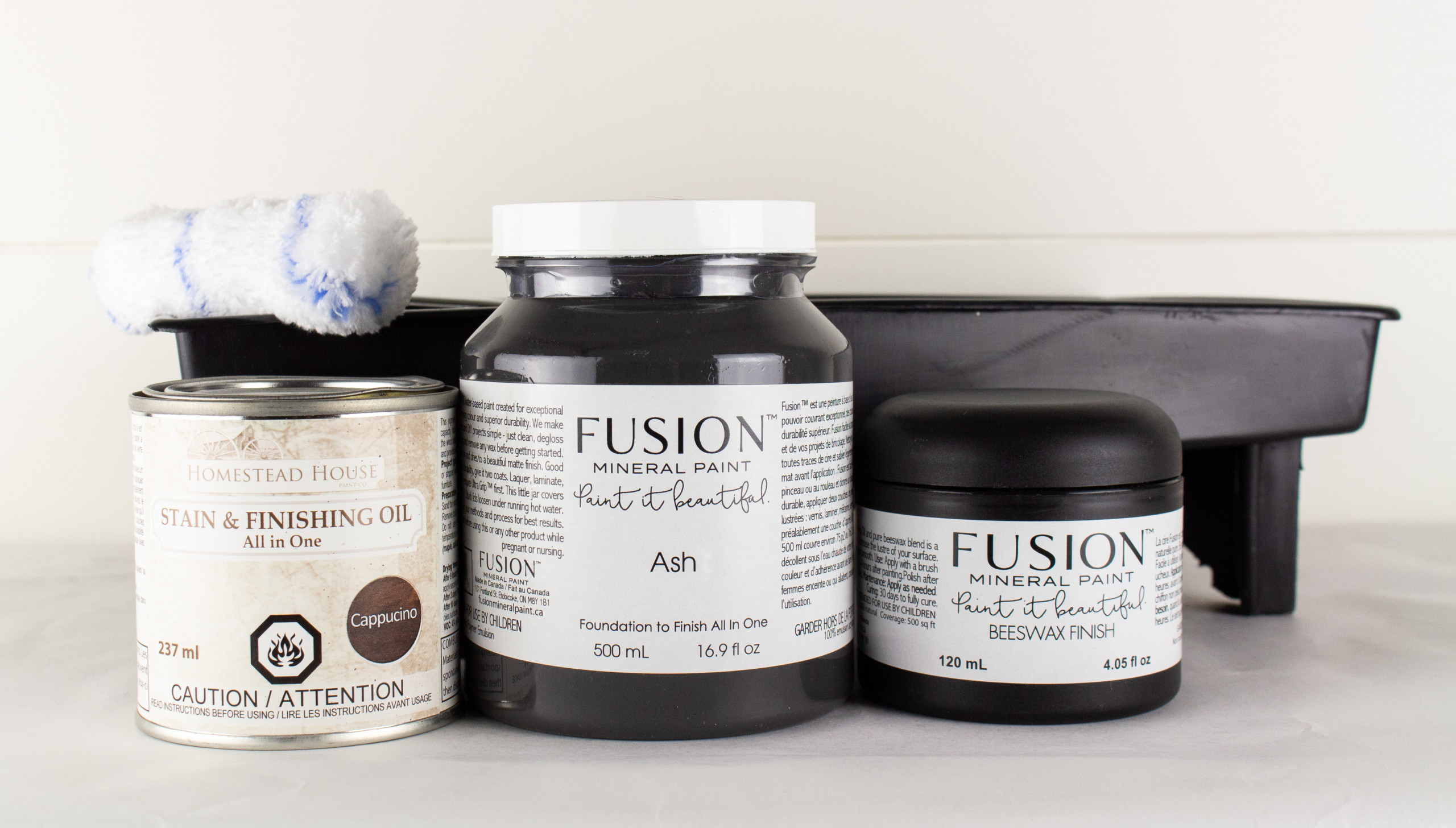 Have you spotted a two-tone piece that you love, but weren't sure how doable the whole project was? Well, with the right materials any piece can look custom and expensive. Get the two-tone effect using Fusion's Mineral Paint and SFO.