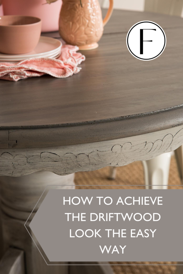 How to achieve a driftwood finish using Fusions Stain and Finishing Oil - Fusion Mineral Paint