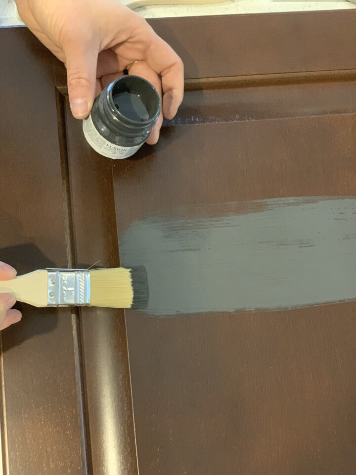 avoiding brush stokes with Suion Extender - Fusion Mineral Paint