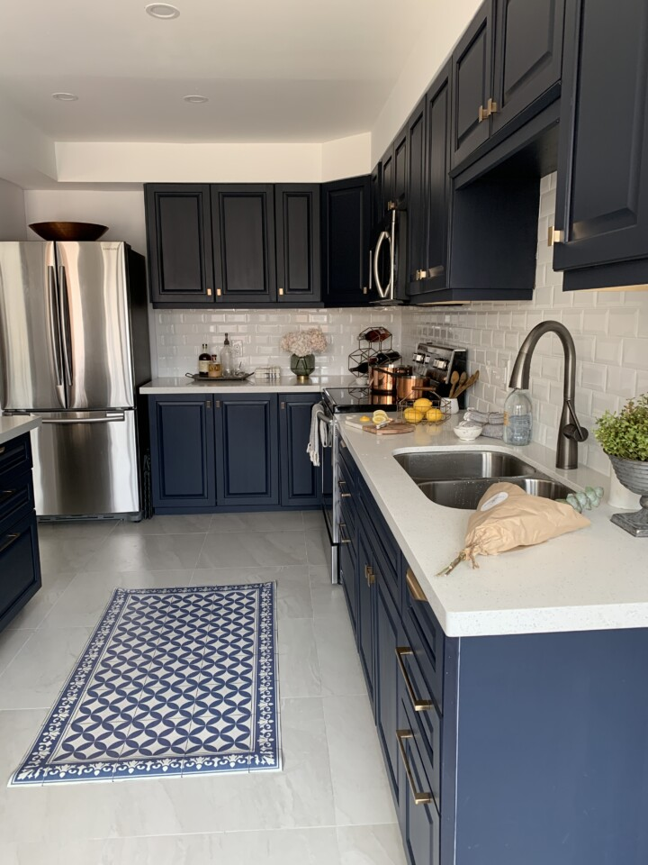 Kitchen makeover on a budget - Fusion Mineral Paint