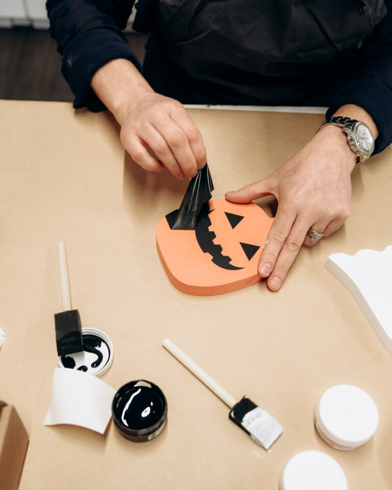 Create a Halloween Home Decor Project with Homeworks Etc. DIY Kits - Fusion Mineral Paint