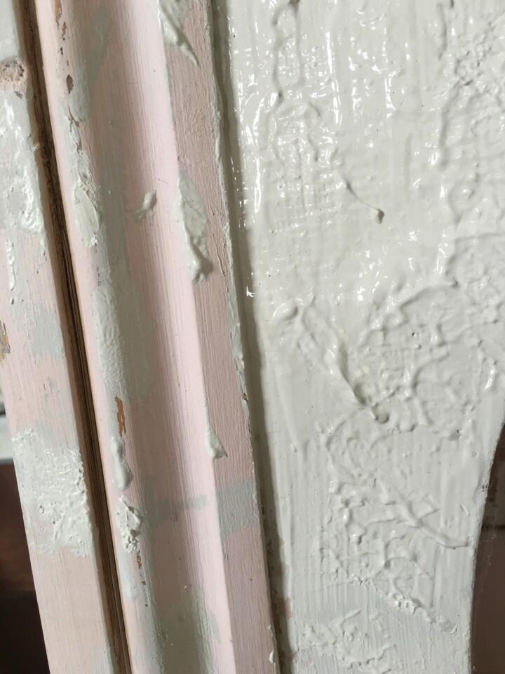 close up fo heavy texture