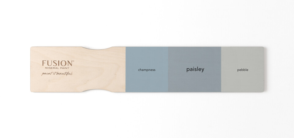 Fusion Mineral Paint Colour Comparison for Paisley