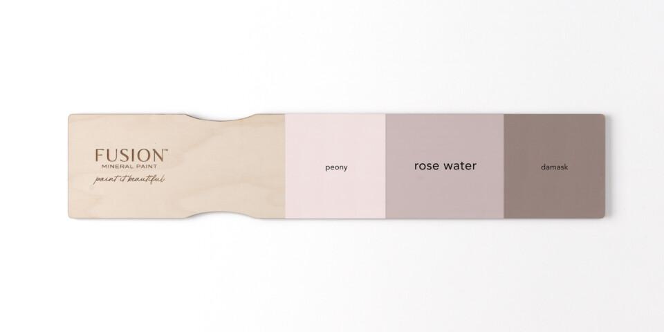 Rose Water Comparison Board